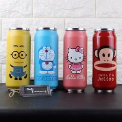 Lon Nước Giữ Nhiệt Minion, Hello Kitty, Đôremon, Khỉ B97