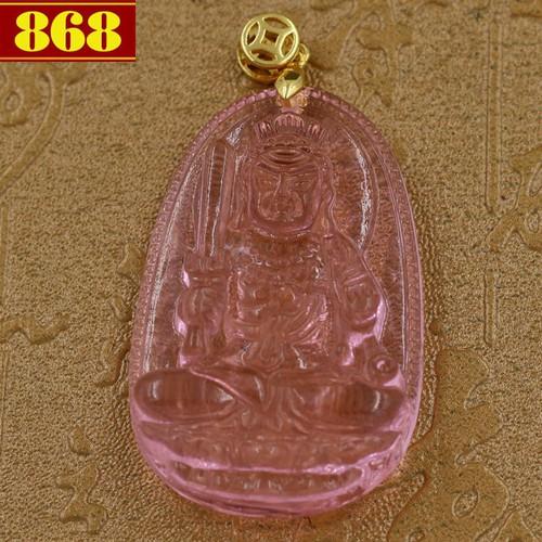 Mặt dây chuyền Phật Bất động minh vương - pha lê hồng 5cm - tuổi Dậu - 11067765 , 6860969 , 15_6860969 , 140000 , Mat-day-chuyen-Phat-Bat-dong-minh-vuong-pha-le-hong-5cm-tuoi-Dau-15_6860969 , sendo.vn , Mặt dây chuyền Phật Bất động minh vương - pha lê hồng 5cm - tuổi Dậu