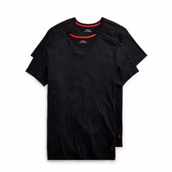 Set 2 áo Supreme Comfort Crews Ralph Lauren - Màu Black size S