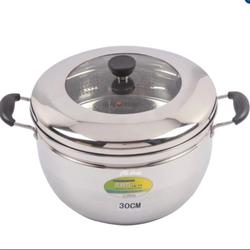 Nồi hấp inox Steam Cooker 30cm -chõ đồ xôi bằng inox