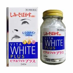 Viên uống trắng da, trị nám vita white plus