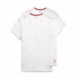 Set 2 áo Supreme Comfort Crews Ralph Lauren - Màu White, size S