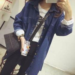áo khoác jeans dáng dài Mã: AO3118