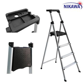 Kiên Định Phát: Thang nhôm ghế 4 bậc Nikawa NKP-04 - NKP-04 | Sendo.vn