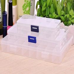 Combo 3 hộp đựng nhiều ngăn tiện dụng