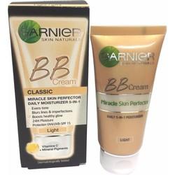 Kem nền BB cream Garnier 5 in 1dưỡng da sáng tự nhiên với Vitamin C