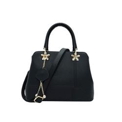 Túi xách nữ da tổng hợp cao cấp màu đen MT21
