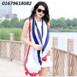 khăn lụa nữ, khăn choàng nữ Thinking Of You  mới Hàn quốc HNKC306