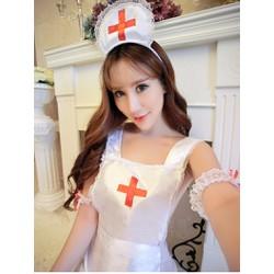 Đồ ngủ cosplay y tá nóng bỏng TK962
