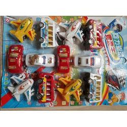 Bộ sưu tập ô tô máy bay cho bé