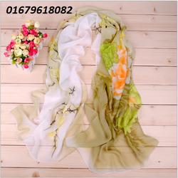 khăn lụa nữ, khăn choàng nữ Camelliathiết kế mới Hàn quốc HNKC311