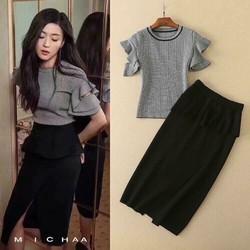 Set áo váy Quảng Châu