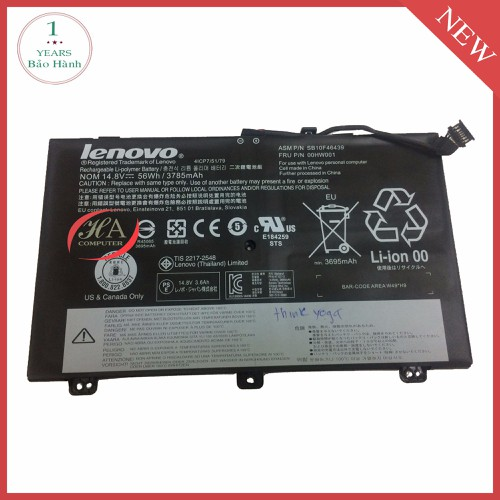Pin Lenovo ThinkPad S5-20B3A03BCD