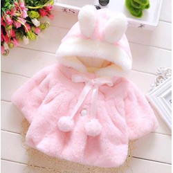 Áo khoác lông mịn siêu cute cho bé hàng cao cấp giá rẻ