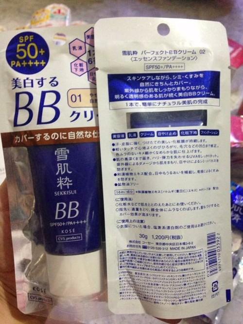 Kem trang điểm BB Kose Sekkisei Cream 6 in 1 2
