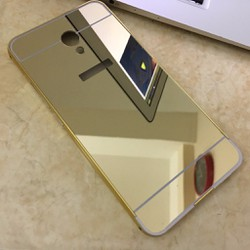 Meizu-M5 Note-Ốp lưng tráng gương viền kim loại nhôm