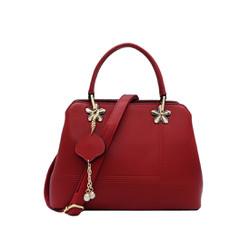 Túi xách nữ da tổng hợp cao cấp màu đỏ MT22