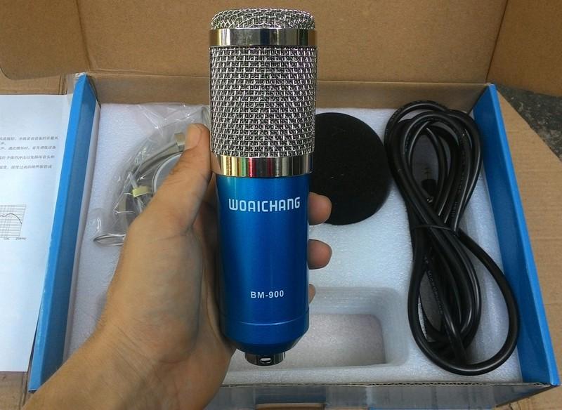 MIC THU ÂM BM-900 1