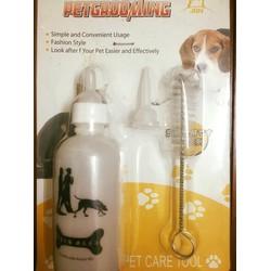 Chai uống cho cún cưng