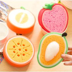 Combo 2 dụng cụ rửa chén hình trái cây