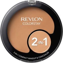 Kem Nền Che Khuyết Điểm Revlon ColorStay 2in1 Compact Makeup Concealer