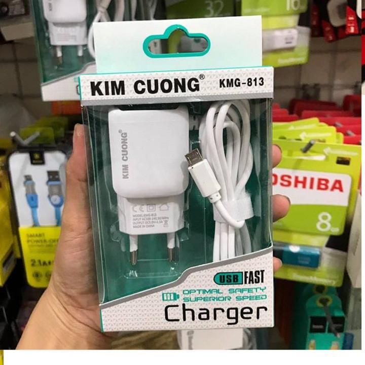 Sạc dây liền Kim Cương có cổng USB Chính Hãng 6