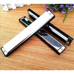 Kèn Harmonica 24 lỗ cao cấp có hộp nhựa bảo quản