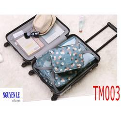 Túi đựng mỹ phẩm tiện dụng khi đi du lịch