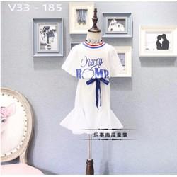 Đầm suôn cực dễ thương cho bé hàng cao cấp giá rẻ