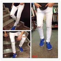 Quần Jeans nam thời trang, kiểu dáng cá tính, phong cách trẻ trung