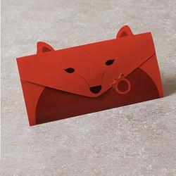 Bộ 5 thiệp chúc mừng hình con cáo cung cấp bởi WinWinShop88