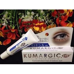 Kem trị thâm vùng mắt Kumargic Eye Cream 20g - Nhật Bản nội địa