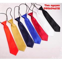 Cà vạt nam nữ thắt sẵn - cà vạt thắt sẵn