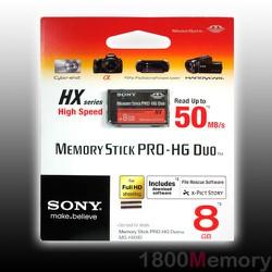 Thẻ nhớ Memory Stick Pro Duo 08GB Sony