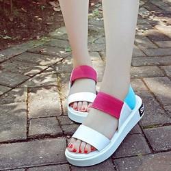 Giày sandal đế bằng nữ 2 quai hàng nhập - LN1364