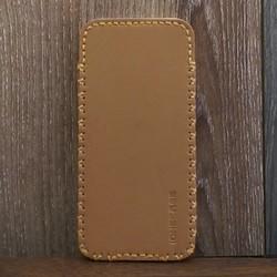 Bao Da Rút Iphone 7 Dạng Hộp Màu Nâu