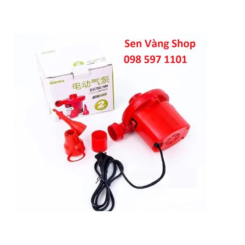 Bơm điện hút chân không 2 chiều Wenbo Đỏ
