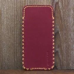 Bao Da Rút Iphone 7 Dạng Hộp Màu Đỏ