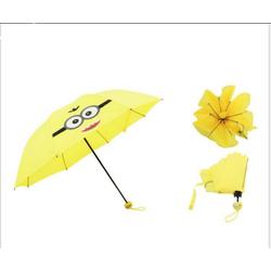Dù đi mưa vàng minion