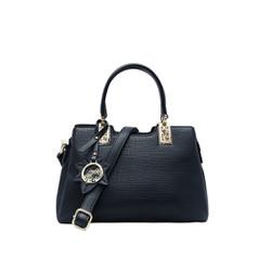 Túi xách tay nữ da tổng hợp cao cấp màu đen MT24