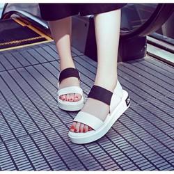 Giày sandal đế bằng nữ 2 quai hàng nhập - LN1365