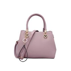 Túi xách nữ da tổng hợp cao cấp màu hồng MT23