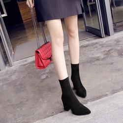 Giày boot nữ phong cách Âu Mỹ sành điệu GBN165