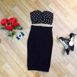 Set áo và chân váy thiết kế