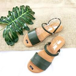 giày sandal quai ngang mang được 2 kiểu