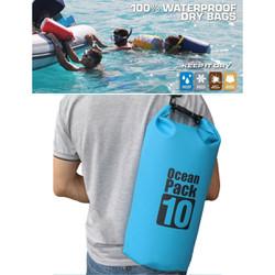 Túi phao 2 trong 1  Ocean Pack- Túi khô đựng đồ khi đi bơi 10L