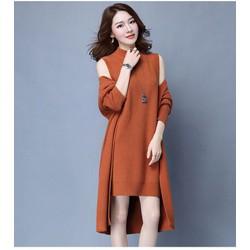 Sét váy áo len cao cấp sành điệu NH66