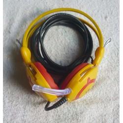 Tai nghe chụp tai Trâu vàng V2K