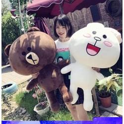 gấu bông brown cony size 55cm