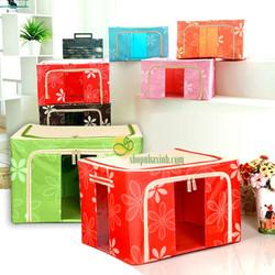 Combo 2 Hộp vải đựng đồ đa năng Living Box size to
